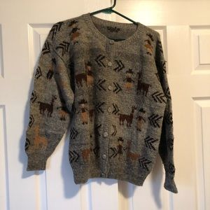 Handmade in South America! Alpaca Sweater